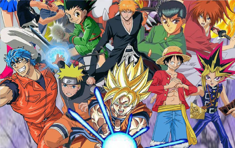 melhores animes anos 90