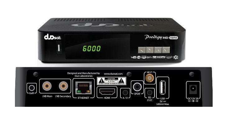 Receptores mais modernos vinham com dois Tunners: um recebe som e imagem e outro as chaves para liberar os canais através de internet via satélite.