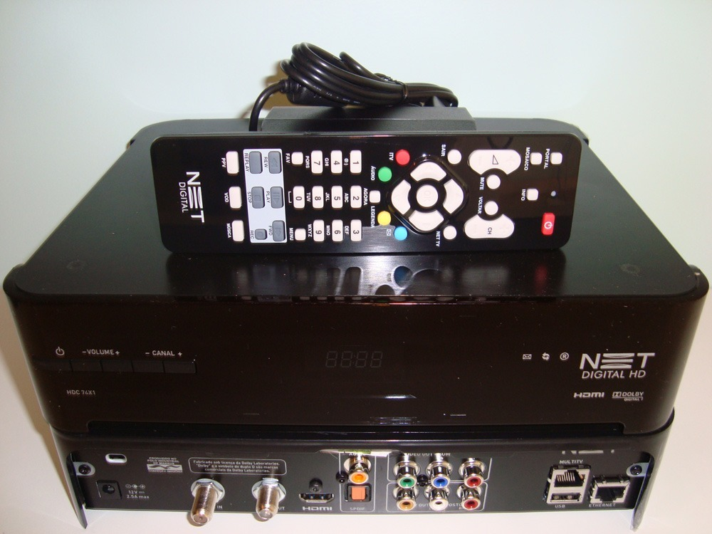 novo receptor net hd, pacotes net hd, novos pacotes net preço