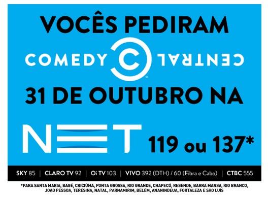 Comedy Central na NET