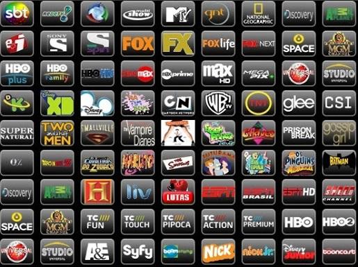 melhores canais tv
