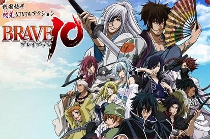 Brave 10 é novo anime de um mercado que segue aquecido