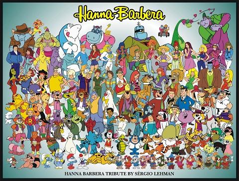 todos os personagens Hanna Barbera