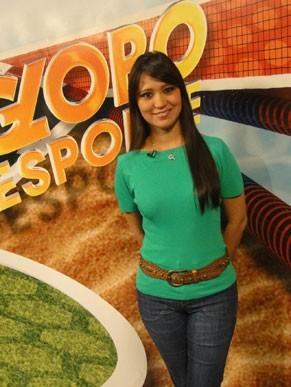 Jornalista da Globo de cabelo comprido