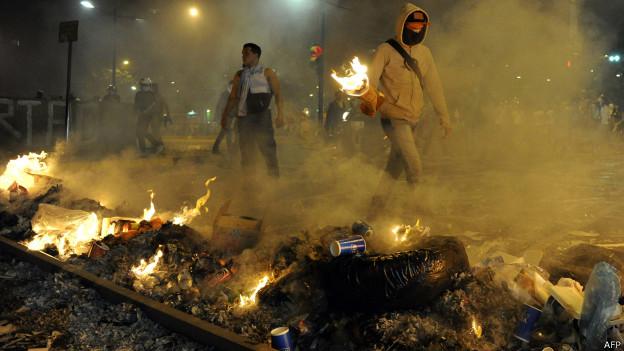 Protestos na Vezuela