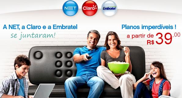 novos canais na net e claro tv