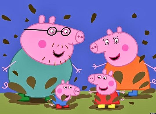 Peppa Pig é sucesso de audiência na TV paga