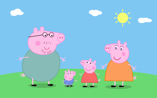 Presente Criança Peppa Pig Conjunto Barato Desenho Animado