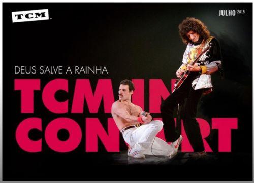 TCM exibe show histórico da banda Queen