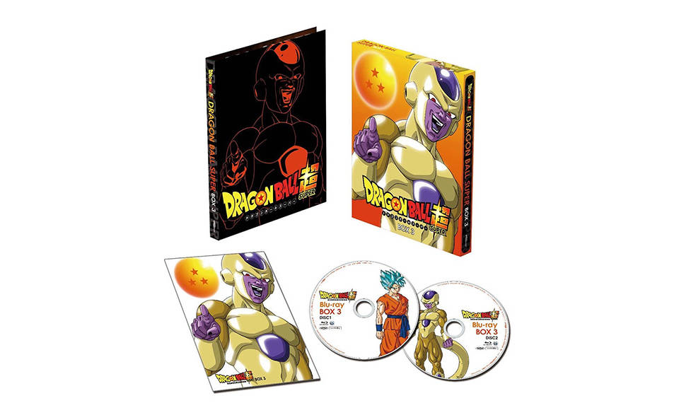 box dragon ball ressurreição de freeza