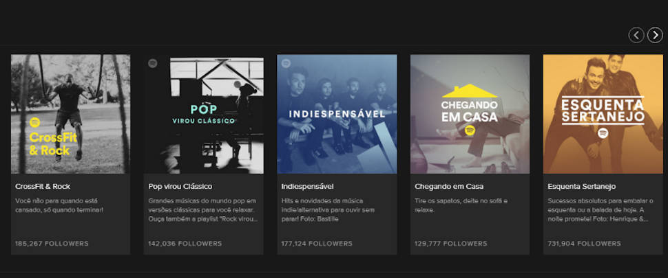 playlists spotify