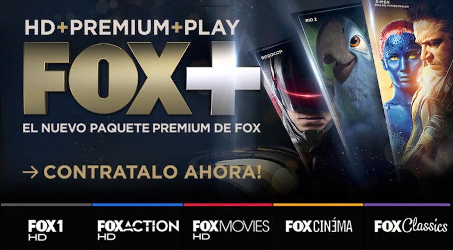 Como podemos ver, a experiência premium da FOX é muito maior nos países da América Latina