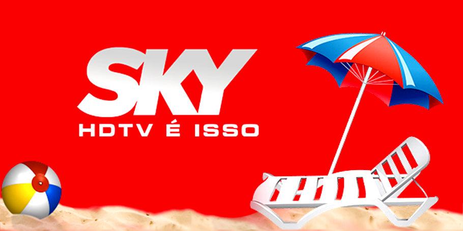 novos canais hd na sky