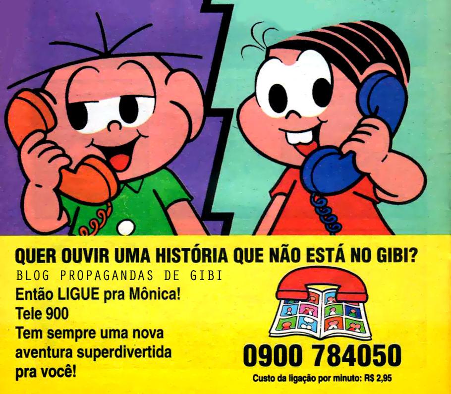 propagandas 0900 década de 90