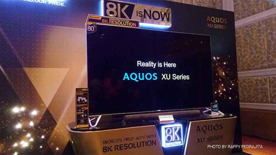 Lembra da Sharp? Sumida do Brasil, lá fora é uma das empresas que mais inovam e oferecem tecnologias avançadas, como o 8K.