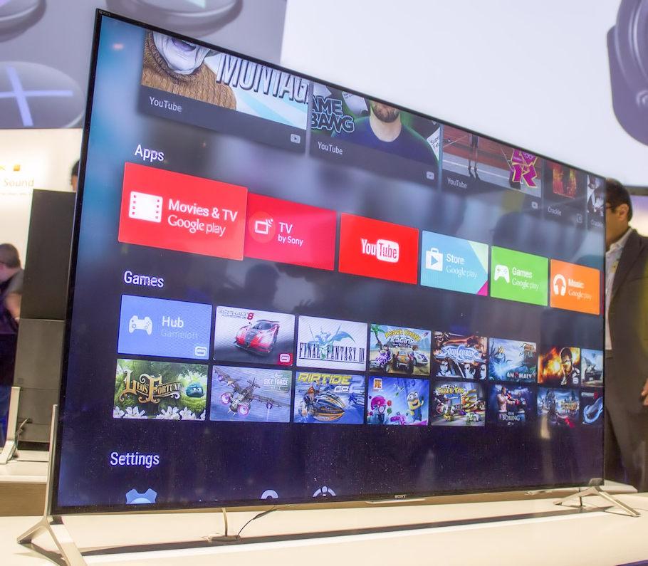 tv 4k Sony com Android TV