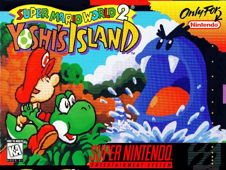 super-mario-world-2-yoshis-island-melhores-jogos-snes