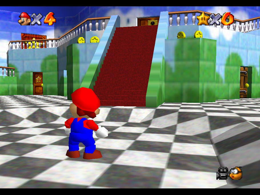 super-mario-64-gameplay