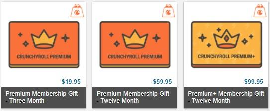 vale presente 3 meses crunchyroll